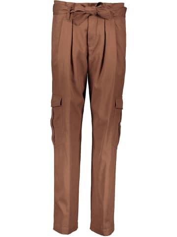 Marc O'Polo DENIM Spodnie w kolorze brązowym