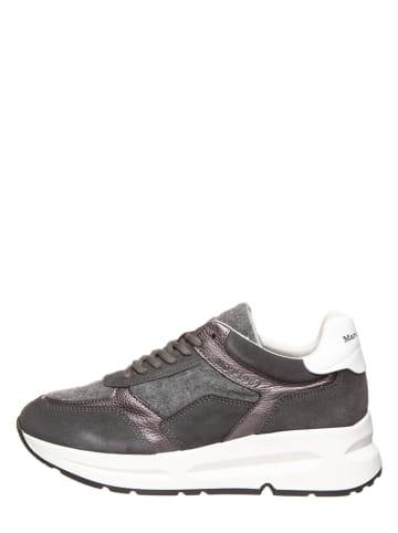 "Marc O'Polo Shoes Leren sneakers ""Massima 1"" grijs"