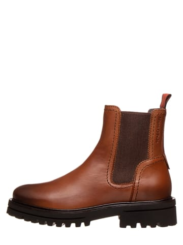 """Marc O'Polo Shoes Leder-Chelsea Boots """"Licia 8B"""" in Braun"""