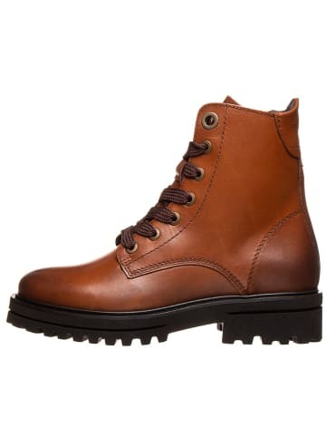 """Marc O'Polo Shoes Leder-Boots """"Licia"""" in Hellbraun"""