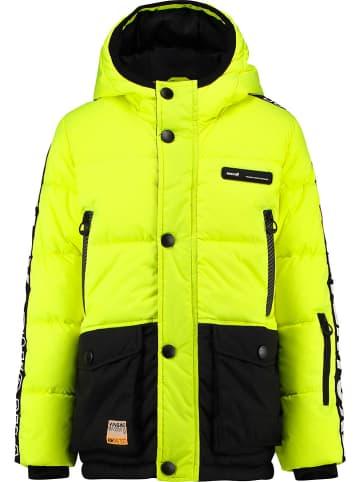 """Vingino Winterjas """"Tide"""" geel/zwart"""