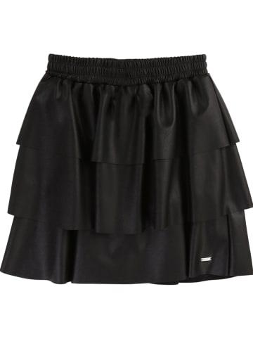 Karl Lagerfeld Kids Spódnica w kolorze czarnym