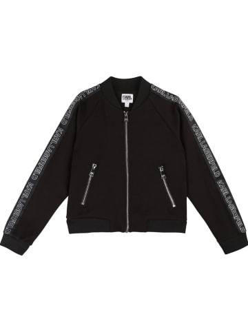 Karl Lagerfeld Kids Bluza w kolorze czarnym