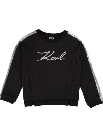 Karl Lagerfeld Kids Sweatshirt in Schwarz