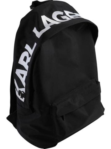 Karl Lagerfeld Kids Rugzak zwart - (B)27 x (H)39 x (D)12 cm