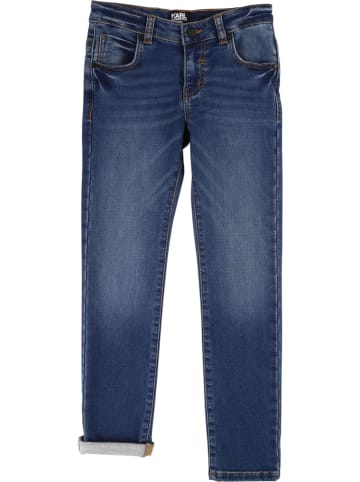 Karl Lagerfeld Kids Jeans in Blau