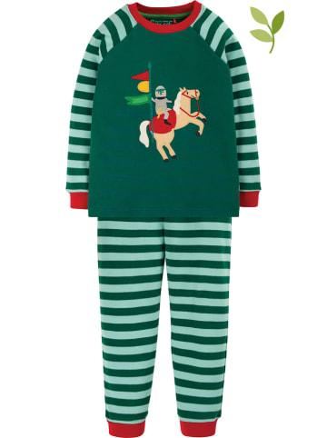 "Frugi Pyjama ""Ace"" groen"