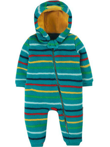 """Frugi Fleeceoverall """"Ted"""" in Grün"""