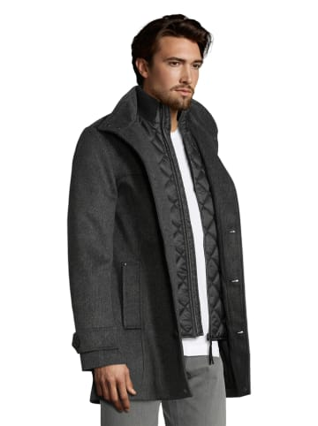 Tom Tailor Płaszcz przejściowy w kolorze szarym