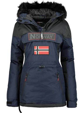 """Geographical Norway Kurtka zimowa """"Bruna"""" w kolorze granatowym"""