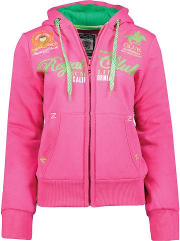 """Geographical Norway Bluza """"Fanille"""" w kolorze różowym"""
