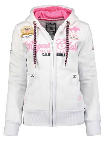 """Geographical Norway Bluza """"Fanille"""" w kolorze białym"""