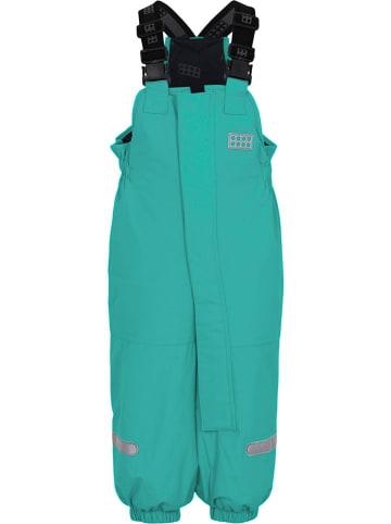 """Legowear Spodnie narciarskie """"Puelo"""" w kolorze turkusowym"""