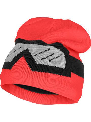 """Legowear Czapka beanie """"Atlin"""" w kolorze czerwonym"""