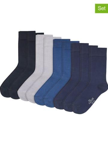 S.Oliver 9er-Set: Socken in Blau