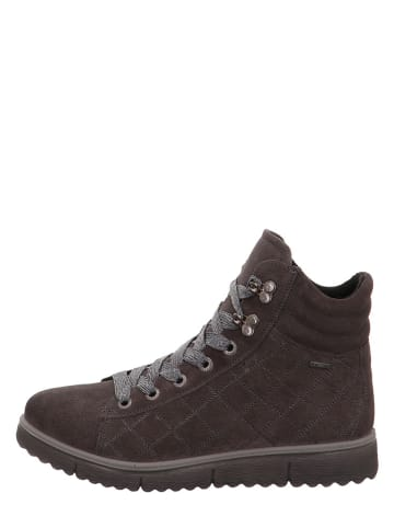 "Legero Leren sneakers ""Campania"" bruin"