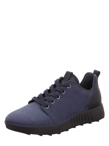 """Legero Leren sneakers """"Essence"""" donkerblauw"""