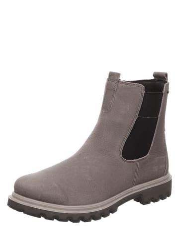 "Legero Leder-Chelsea-Boots ""Monta"" in Grau"