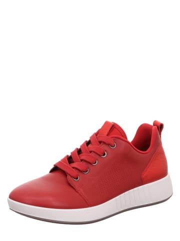 "Legero Leren sneakers ""Essence"" rood"