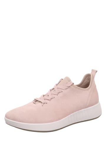 """Legero Leren sneakers """"Essence"""" lichtroze"""