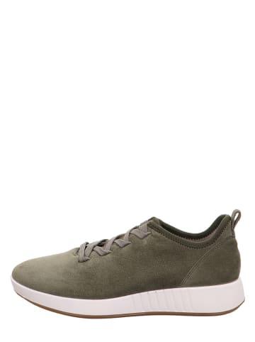 """Legero Leren sneakers """"Essence"""" olijfgroen"""