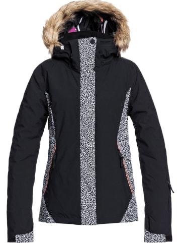 """Roxy Kurtka narciarska """"Jet Ski"""" w kolorze czarno-białym"""