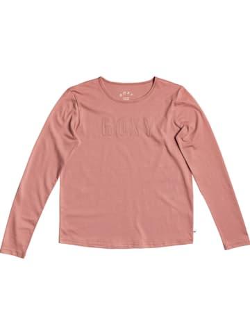 """Roxy Koszulka """"Red Sunset"""" w kolorze jasnoróżowym"""