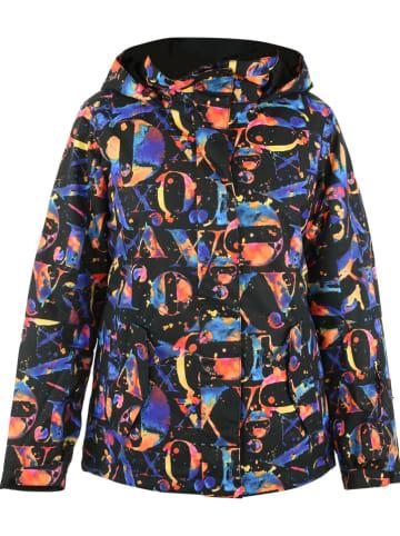 """Roxy Kurtka narciarska """"Jetty"""" w kolorze niebieskim ze wzorem"""