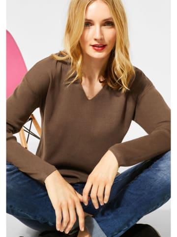"""Street One Sweter """"Coralie"""" w kolorze brązowym"""