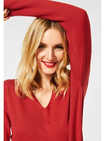 """Street One Sweter """"Coralie"""" w kolorze czerwonym"""
