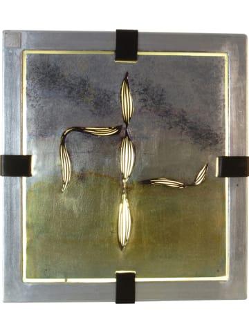 Näve Verlicht decoratief beeld - (B)33,5 x (H)30,5 cm