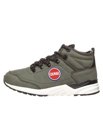 """COLMAR Sneakersy """"Cooper Strock"""" w kolorze oliwkowym"""