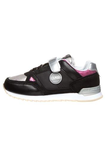 "COLMAR Sneakersy ""Supreme Fury"" w kolorze czarno-srebrnym"