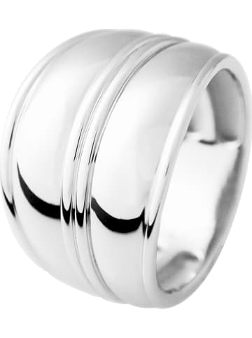 "Wishlist Zilveren ring ""Double"""