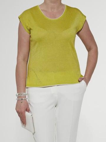 Olimpia Bluzka w kolorze limonkowym