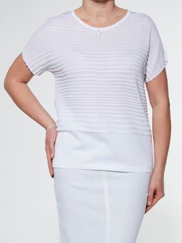 Olimpia Bluzka w kolorze białym