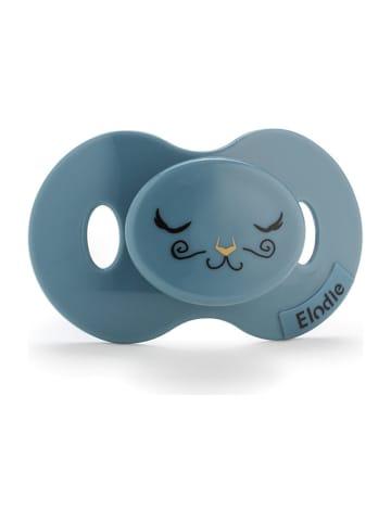 Elodie Details Smoczek w kolorze niebieskoszarym - 3 m+