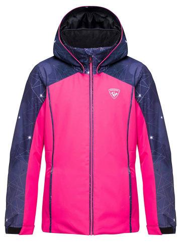 ROSSIGNOL Ski-/ Snowboardjacke in Pink/ Dunkelblau