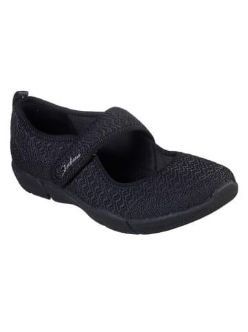 Skechers Ballerina's zwart