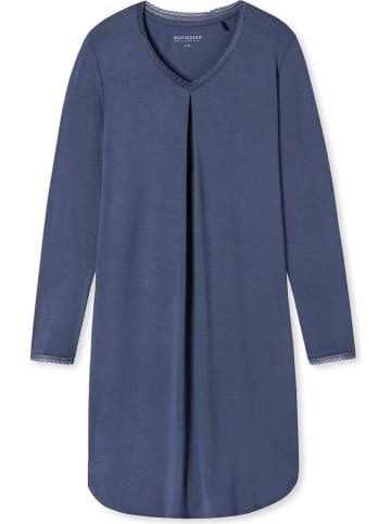 Schiesser Nachthemd blauw