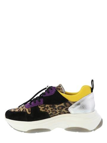 Lazamani Sneakers zwart/meerkleurig