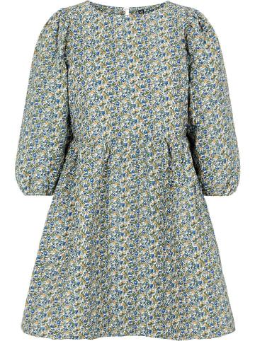 """Pieces Sukienka """"Pclillalo"""" w kolorze biało-niebiesko-zielonym"""
