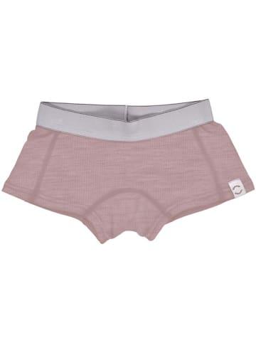 Mikk-line Wełniane pełne majtki w kolorze jasnoróżowym