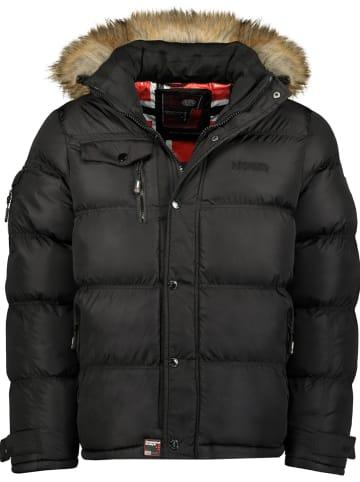 """Geographical Norway Kurtka zimowa """"Bonap"""" w kolorze czarnym"""