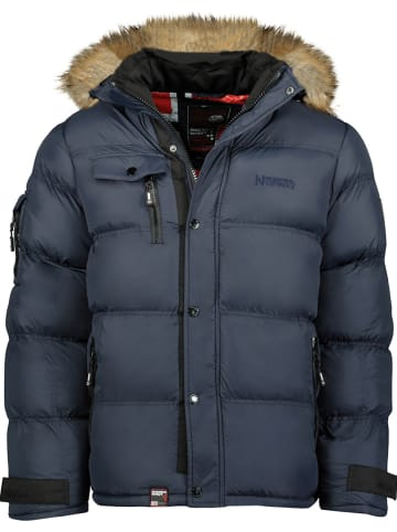 "Geographical Norway Winterjacke ""Bonap"" in Dunkelblau"