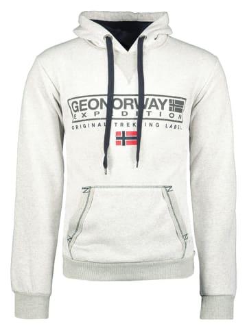 "Geographical Norway Sweatshirt ""Gasic"" in Grau"