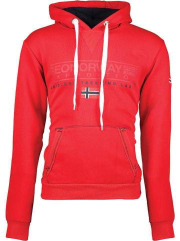 "Geographical Norway Sweatshirt ""Gasic"" rood"