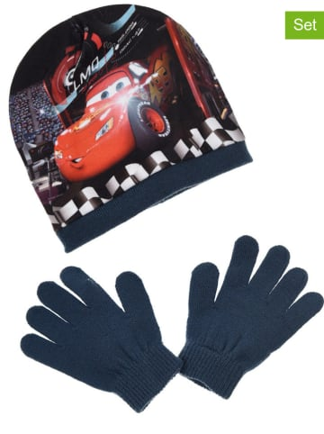 "Disney Cars 2tlg. Winteraccessoires-Set ""Cars"" in Dunkelblau"