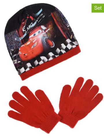 "Disney Cars 2tlg. Winteraccessoires-Set ""Cars"" in Rot/ Schwarz"