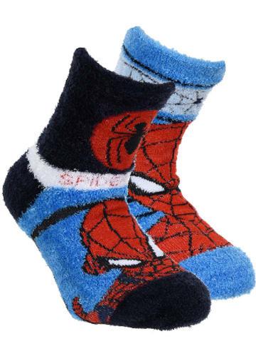 """Spiderman ABS-Socken """"Spiderman"""" in Blau/ Schwarz"""